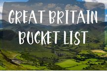 Travel: Great Britain / Travel wish list for when I get back to the UK.