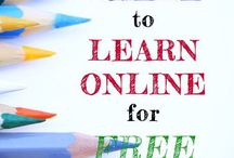 Online Learning / Great resources for learning online. Course information (some free!) for all areas of study.
