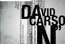 David Carson Typographie