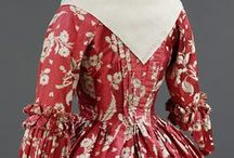 Antique women's dresses / Beautiful old dresses for admiration of the workmanship, the design, fabric and colours / by Carola