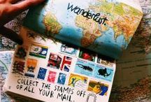 Travel diaries & journals / The most beautiful and creative diaries and journals!