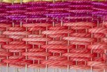 Loom knitting & weaving