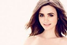 Lily Collins / Lily Jane. <3