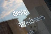 IDEA studio di progettazione / La sede dello studio di design, arredamento e grafica, che dirigo a Pesaro dal 1982