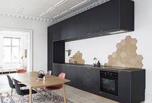 Kitchen a room / Room-like kitchen