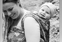 Gewinner-Bilder / Über Facebook haben wir Test-Träger gesucht für unser neues, wunderschönes Florenz-Tuch. Drei Trage-Mamas haben ein Tragetuch bekommen. Hier kommen ein paar schöne Tragefotos. #AusLiebezuDir #Hoppediz