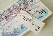 Stationery ideas / Wedding invites, save the dates, placecards, tablecards...