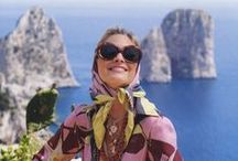 Fashion style Amalfi Coast / Clothing, bags and shoes: fashion inspired by Capri and the Amalfi Coast of Italy.