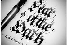 Calligraphy and above