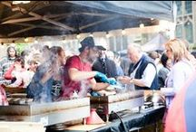 Eat Street / Shrewsbury's first Street Food Event was launched by Shropshire's favourite celebrity chef Marcus Bean in May in a bid to bring the latest street food personalities and produce to the medieval town.