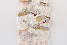 Tissage weaving fils laine tissu / tissage weaving fils laine