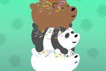 We Bare Bears / Grizz, Panda & Ice bear
