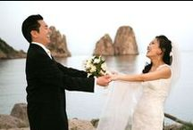 Capri Weddings / Weddings with civil or religious ceremony in the beautiful island of Capri in southern Italy.