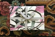 Gift Wrap / Interesting uses of gift wrap, wrapping papers, presents and gifting