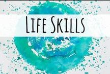 Life Skills Learning / Life skills resources for the homeschool mom.