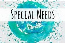 Special Needs / Resources for those homeschooling children with special needs.
