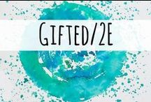 Gifted and Twice-Exceptional (2e) Learners / Resources for those homeschooling gifted and twice-exceptional (2E) children.