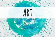 Art / Art resources for the homeschool mom.