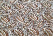 Pitsi- ja reikäneuleet - Lace patterns & charts