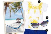 Tropical Holiday Packing Essentials / Tropical Vacation Honeymoon Holiday Packing Essential Beachwear