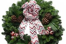 Handcrafted Christmas Wreaths from www.christmasforest.com / Christmas Forest Wreaths Handcrafted in the foothills of the Cascade Mountains, our gorgeous #Christmas #wreaths and Holiday swags are perfect as personal or corporate #Christmas gifts. (Great fundraiser idea as well) Fresh Christmas Wreaths.