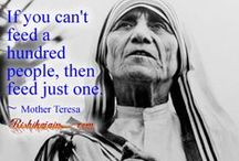 CF Blessed Mother Teresa / by CatholicFeast
