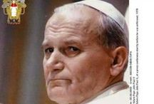 CF Saint John Paul II / Please pin with discernment and help avoid duplicating the same pins.  Thank you. / by CatholicFeast