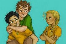 Percy Jackson / Percy Jackson and his friends / by Katherine Nilson