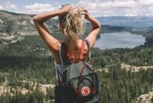 go outside / The outdoors can move you and make you think and make you feel alive. They inspire you and ground you and fill you up all at the same time. This is a collection of outdoor adventure inspiration, some of which I'll see with my own ideas and some which will always fill my dreams.