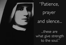 CF Saint Faustina / by CatholicFeast