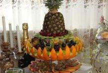 ovocne salaty, misy