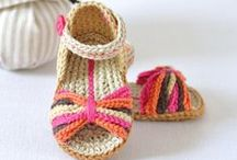 Baby Crochet Ideas / Patterns and ideas for crochet shoes and other cute things for babies.
