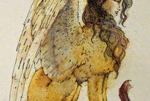 Myth + Goddess + Hero + old stones