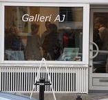 Galleri AJ / Jeg har åbnet mit eget galleri, med mine egne malerier på Sofievej i Holte.