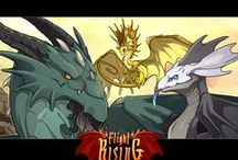 Flight rising / Here I'll post some of the accessories from flight rising and some of my own and others dragons in flight rising. My account is called Emibo if someone wondered. ;-)