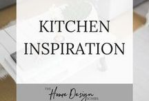 Kitchen Inspiration / Be inspired to create your dream kitchen by these English and country style kitchens. If you're looking for inspiration on kitchen units and cupboards to worktops and door knobs, fabrics and styling advice, you're in the right place. Why not head on over to join our FREE interior design resource library at www.TheHomeDesignSchool.com/signup?