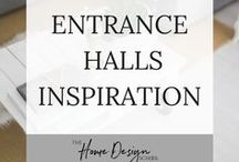 Entrance Hall Inspiration / The entrance to your home should be warm, welcoming and friendly. If you're looking to style your entrance hall like a pro, then you're in the right place for style advice. Why not head on over to join our FREE interior design resource library at www.TheHomeDesignSchool.com/signup?