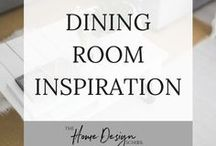 Dining Room Inspiration / Having friends around for dinner and need some design inspiration? You're in the right place! Full of classic contemporary country style advice for your dining room.   Why not have a look around, and then come and sign up for our newsletter at www.TheHomeDesignSchool.com/signup for an injection of weekly design and decorating advice straight to your inbox, plus instant access to a home décor resource library.