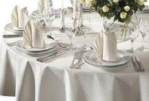 Hochzeit - Runde Tische dekorieren
