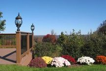 Fall at The French Manor / Autumn in the Poconos is a kaleidoscope of colors!