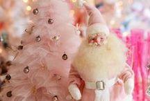 Pastel Pink Christmas