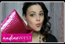 Love and reviews! / Hear more about Nadine West from Bloggers and YouTube!