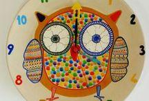 Duvar Saati / El yapımı duvar saatlerinden sipariş vermek için facebook Nüwa Sanat sayfasından iletişime geçebilirsiniz.