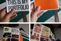 Portfolio / Layout and style inspiration for design portfolio.