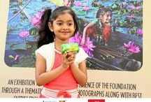 Click a Smile - Photography Exhibition / Photos of amazing and beautiful smiles of children which got entries through Akshaya Patra's 'Click a Smile' contest and photos of Photography Exhibition.