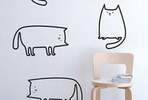d e c a l s / Wall decals