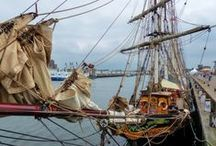 Pre Sail 2015 IJmuiden / A collection of tall ships that visit the harbour of IJmuiden & Amsterdam during SAIL2015 in the Netherlands #SAIL2015 #sailamsterdam