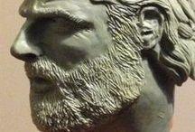 P003 Andrew Lincoln, Rick Grimes TWD 1/4 / Tercer proyecto, busto escala 1/4 del personaje de Rick Grimes, interpretado por Andrew Lincoln para la serie de TV de The Walking Dead. Modelado en plasticera de Olaveclaywax, producto chileno.