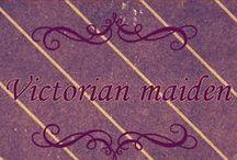 Victorian maiden / ❤︎Victorian Maiden items at Wunderwelt online shop❤︎