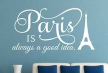 Famous Phrases / A collection of famous phrases for home and office decor.